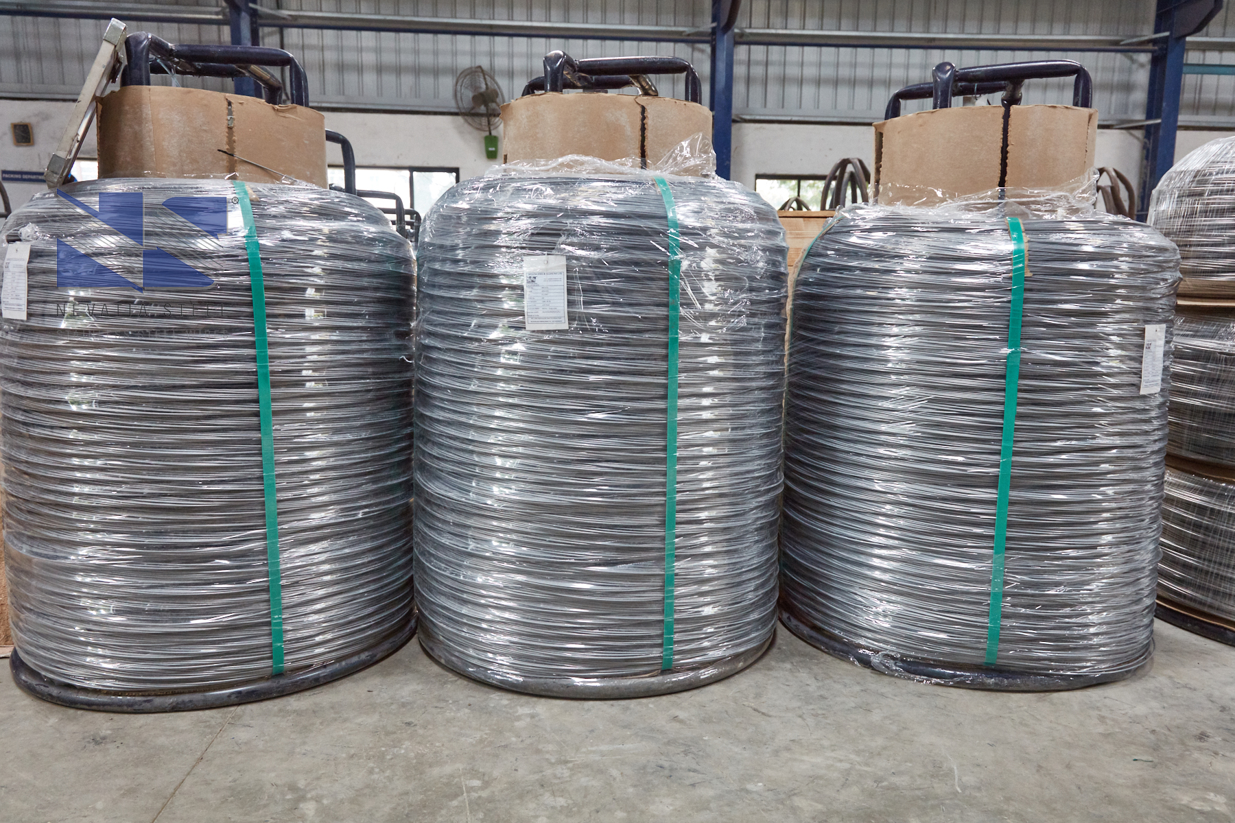 Nevatia Steel - A Leading Manufacturer of Stainless Steel Wires